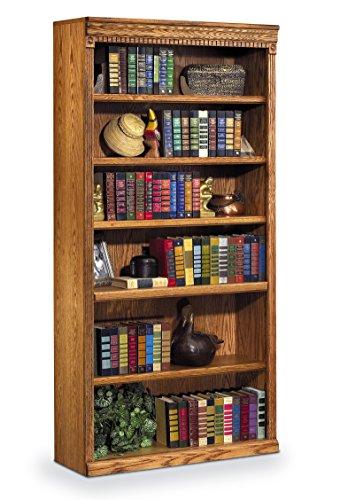 Martin Furniture Huntington Oxford 72' Open Bookcase, Wheat Finish, Fully Assembled