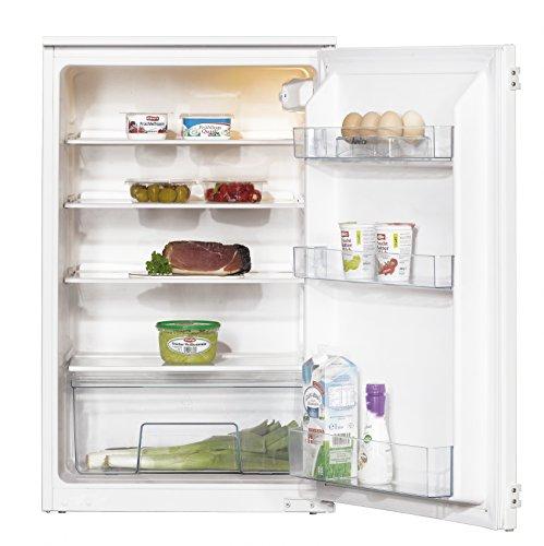 Amica EVKS 16172 Kühlschrank / A++ / 87,5 cm Höhe / 95 kWh/Jahr / 142 L Kühlteil / Antibakterielle Beschichtung / 3 Glasablagen Sicherheitsglas