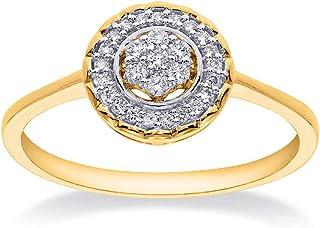 Surrender Diamond Ring 18K Yellow Gold