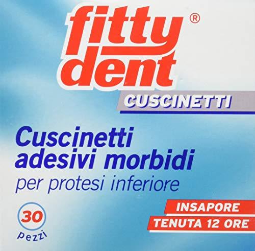 Fittydent Cuscinetti Adesivi Morbidi per Protesi Inferiore - 30...