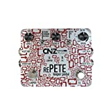 CNZ Audio Re-Pete Stereo Looper Guitar Effects Pedal, Unlimited Overdub, Dual Input & Output Loop, Forward, Reverse, Volume Control, True Bypass, Much More