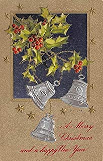 Christmas Post Card Old Xmas Postcard John Winsch Publishing 1911