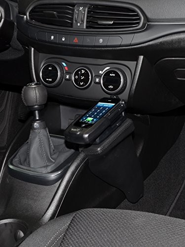 KUDA 2405 Halterung Kunstleder schwarz für FIAT Tipo (Typ 356) ab 2015