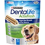 Purina DentaLife Large Breed Dog Dental Chews, 7.2 Ounce (Pack of 5)
