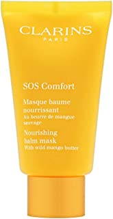 Clarins SOS Comfort Nourishing Balm Mask for Women 2.3 oz, 75 ml