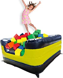 inflatable foam pit gymnastics