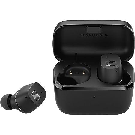 Sennheiser ゼンハイザー Bluetooth 完全ワイヤレスイヤホン CX True Wireless BLACK, ドイツ本社開発7mmドライバー、 左右独立使用可、 IPX4、通話、Bluetooth 5.2対応 Class1、最大9+18時間再生、aptX 【国内正規品】
