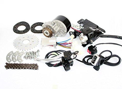 L-faster veloce Più nuovo kit elettrico per motori E-bici da 450W Kit elettrico per motori elettrici Kit di conversione per biciclette a velocità multiple per bicicletta multi-velocità (36V Thumb Kit)