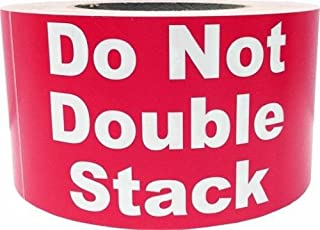 Best do not double stack labels Reviews