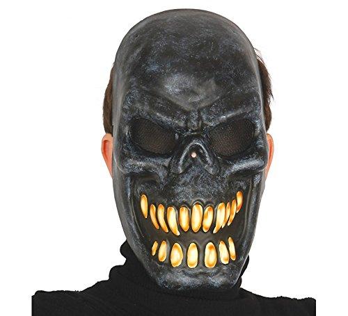 Squelette masque noir