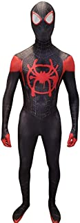 Miles Morales Cosplay Costume Lycra Fabric Bodysuit Superhero Halloween Suit