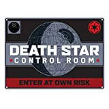 Star Wars Death Star Targa Metallica Piccola