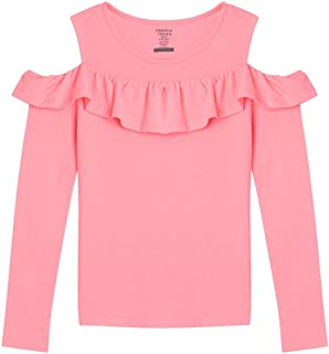 little girls cold shoulder top