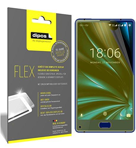 dipos I 3X Schutzfolie 100prozent kompatibel mit Doogee Mix Lite Folie (Vollständige Bildschirmabdeckung) Bildschirmschutzfolie