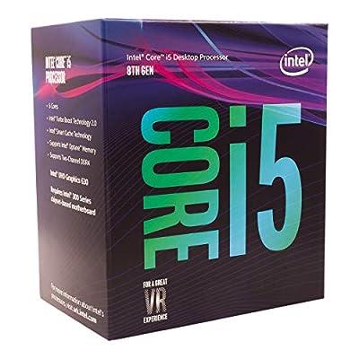 Intel Core i5-8400 Retail - (1151/Hex Core/2.80GHz/9MB/Coffee Lake/65W/Graphics)