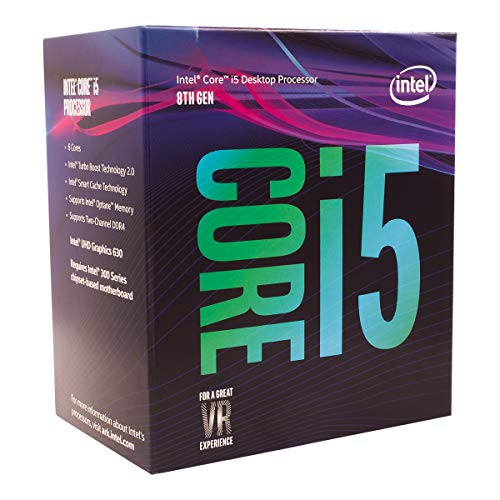 Intel Core processor. i5-8400 4,00 GHz grijs