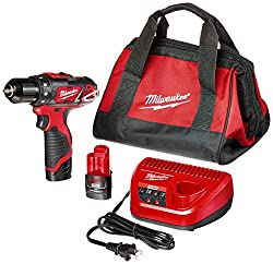 Top Rated Cordless Drill with Milwaukee 2407-22