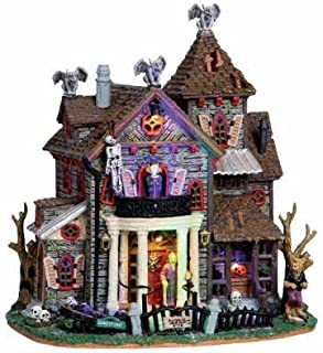 Lemax Spooky Town 13 Ghastly Lane with Adaptor # 05003
