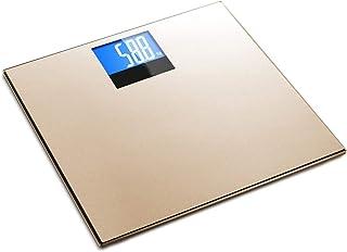 Básculas Balanza electrónica balanza electrónica casera balanza Corporal balanza balanza de Salud para Adultos (Color : Silver)