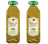 PESARO Extra Virgin Olive Oil Bulk   Single Estate, 100% Pure, Cold Pressed, Traditional - Turkish Olive Oil  Perfect for Salads & Sauteeing  1 Gallon   4 Liters, 2 X 2 Liters