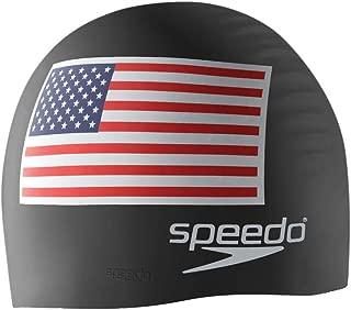 Speedo Silicone 'Flag' Swim Cap