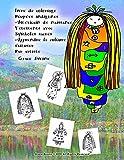 livre de coloriage Poupées indigènes Américain de naissance Vêtements avec Symboles sacrés Apprendre la culture s'amuser Par artiste Grace Divine
