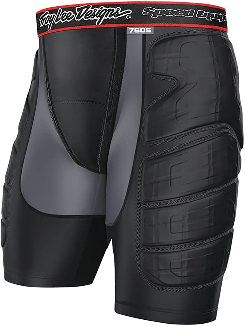 Troy Lee Designs LPS 7605 Protection Short Black Men's OFFicial Washington Mall Solid -