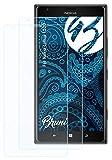 Bruni Schutzfolie kompatibel mit Nokia Lumia 1520 Folie, glasklare Bildschirmschutzfolie (2X)
