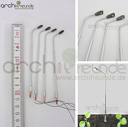 Archifreunde - Lampen & Beleuchtung für Modelleisenbahnen in Silber