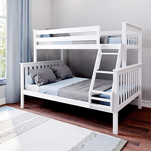 Max & Lily Bunk Bed, Twin/Full, White