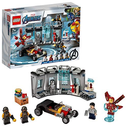 LEGO® Marvel Vingadores Depósito de Armas de Iron Man