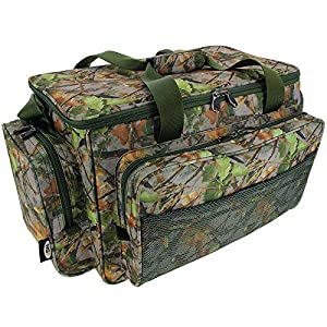 fishing tackle bag – camo carryall / holdall carp fishing, game fishing sea fishing –...