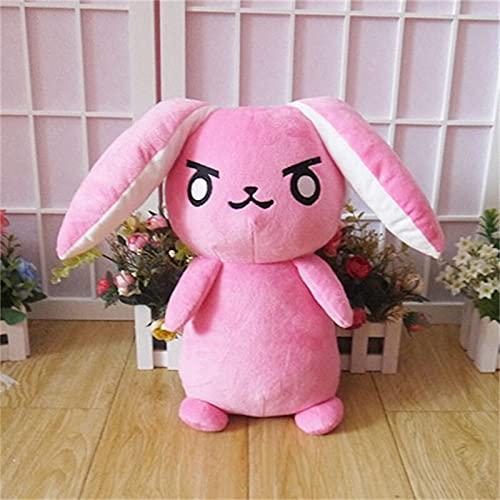 Hammond Mech Rabbit Cosplay Plush Toy Overwatch DVA Rabbit Figure DollSoft Filling Pillow 53cm