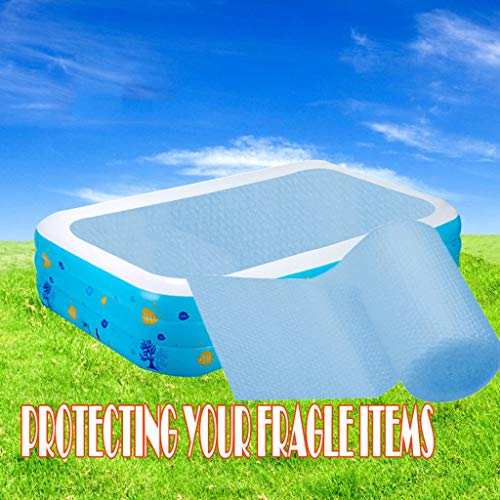 Bumplebee Solarplane Pool Rechteckig, Stabil Solarabdeckplane für Pool Rechteckig, Abdeckplane Pool Rechteckig für Frame Pool, Staubdichtes Pool Cover (120 X 200cm)