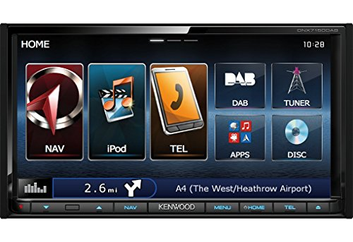 Kenwood Electronics DNX7150DAB Fisso 7' LCD Touch screen 2600g Nero navigatore