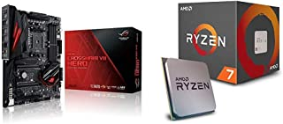 Pack Placa Base ASUS y Procesador AMD:ROG CROSSHAIR VII HERO y AMD Ryzen 7 2700X