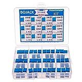 BOJACK 12 Valori 60 pezzi da 100 a 500K ohm 3296 W Kit assortimento potenziometro trimmer ...