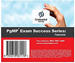 PgMP Exam Success Series: Flashcards by Tony Johnson MBA (2015-03-16)