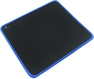 """Reflex Lab Mouse Pad/Mat, (Blue) Stitched Edges, Waterproof, Ultra Thick 3mm, Silky Smooth - 9""""x8"""" Mousepad"""