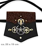 Fritz Fries & Söhne GmbH & Co Bolso Steampunk Time Travel Bag Costume Accesorio Carnaval