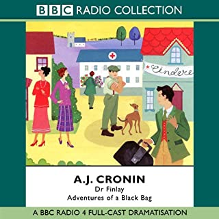 Dr Finlay: Adventures of a Black Bag                   By:                                                                                                                                 A.J. Cronin                               Narrated by:                                                                                                                                 David Ashton,                                                                                        Phyllis Logan,                                                                                        David Tennant,                   and others                 Length: 2 hrs and 47 mins     32 ratings     Overall 4.3
