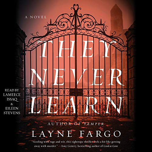 They Never Learn Audiobook By Layne Fargo cover art