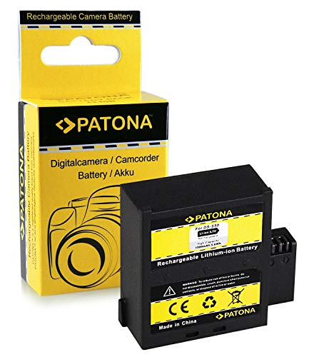 Akku / Batterie DS-S50 für AEE D33 | AEE S50 | AEE S51 | AEE S71 | AEE S70 | Rollei Actioncam Bullet 6s WiFi | 7s WiFi