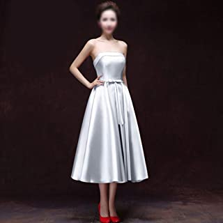 JietaodianziAU Dress Fashion Off The Shoulder Sexy Long Banquet Elegant Evening Dress, Fashion Dress for Women