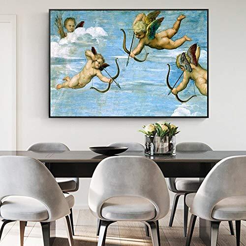 Eros kopie beroemde klassieke schilderijen wandafbeeldingen linnen wandafbeeldingen wandschilderijen Decoratie zonder lijsting