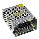 YXQ Regulated Power Supply DC 12V 2Amp 24W Switching AC 110V/220V Transformer Converter for LED Strip Lights, CCTV, Radio, Computer Project (DC 12V 2A 24W)