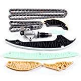 SCITOO Timing Chain Kit fit for Audi for Volkswagen allroad A3 A4 Quattro A5 A6 Eos Tiguan Beetle Jetta Passat CC TT 2.0L 06H109469AD