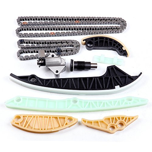 SCITOO Timing Chain Kit fits for 2008-2013 06H109469AD Audi A3 Quattro A4 allroad A5 A6 allroad TT vw Beetle 2.0L
