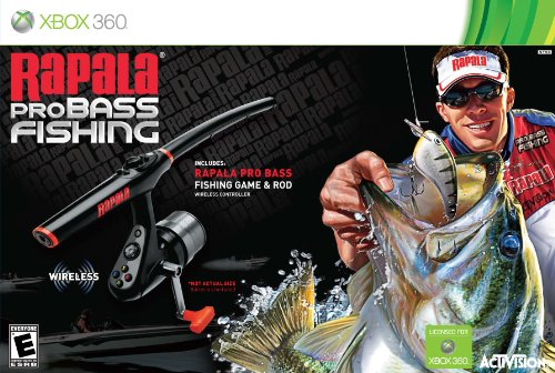 cheap Rapala Pro Base Fishing with Peripheral Rods – Xbox 360