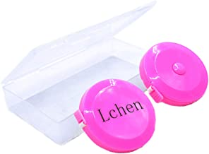 Lchen Tape Measure,Retractable Dress Makers Ruler 60inch/150cm(pack of 2) (pink)